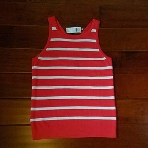 NWT Banana Republic S/M Knit Sleeveless Top